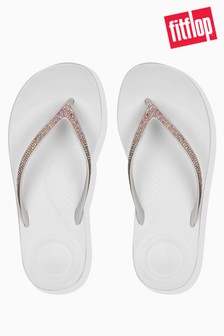 FitFlop™ White Sparkle iQushion™