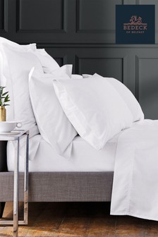 Bedeck Of Belfast White 1000 Thread Count Housewife Pillowcase