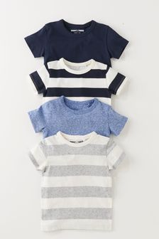 4 Pack T-Shirts (3mths-6yrs)