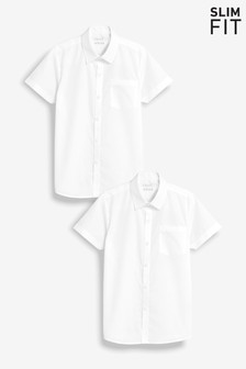 2 Pack Short Sleeve Shirts (3-16yrs)