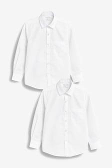 Набор из 2 рубашек с длинными рукавами (3-16 лет)