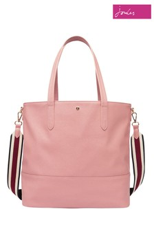 Joules Pink Trent Shopper PU Shopper
