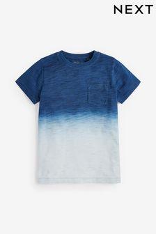 Farbowana koszulka z krótkim rękawem (3-16 lat)