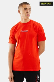 Nautica Competition Red Afore T-Shirt
