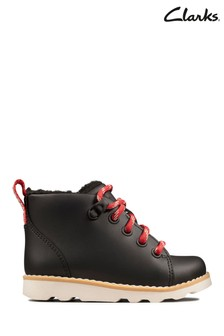 Clarks Black Crown Tor T Boots