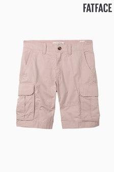 FatFace Pink Bude Lightweight Cargo Short