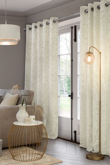 Natural Collection Luxe Clement Eyelet Curtains