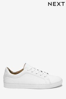 Leren Signature sneakers