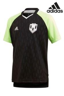 Čierny džersejový dres adidas Messi