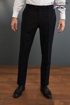 Signature Empire Mills Fabric Suit: Trousers