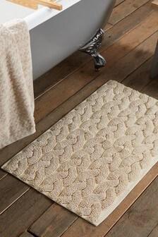 Cosy Cable Bath Mat