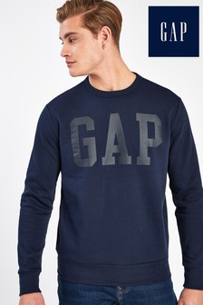 Gap Dark Blue Logo Jumper