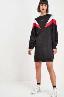 Levi's® Black Colourblock Sweater Dress