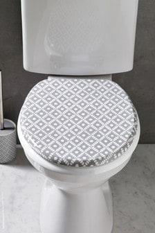 Grey Geo Toilet seat
