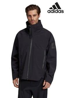Черная куртка adidas MyShelter