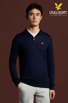 Lyle & Scott Golf Quarter Zip Pullover Jumper