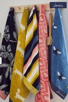 Joules Multi Summer Stripe Towel