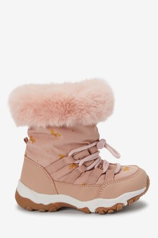 Water Resistant Snow Boots (Younger)