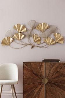 Ginko Leaf Plaque
