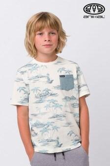 Animal Islander Deluxe T-Shirt, Creme