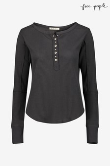 Free People Everest Henley Top