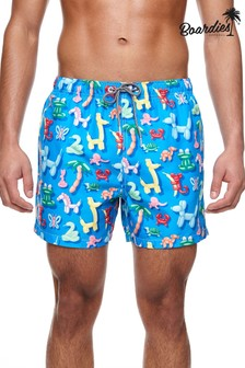 Boardies Balloon Animals Mid Length Swim Shorts