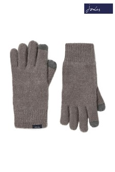 Joules Grey Bamburgh Gloves