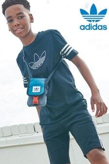 adidas Originals Spirit T-Shirt, Schwarz