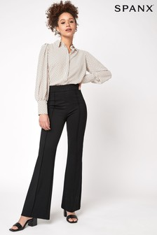 SPANX® The Perfect Black Pant, High Rise Flare Trousers