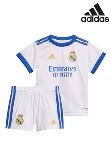 adidas Real Madrid 21/22 Home Baby Football Kit