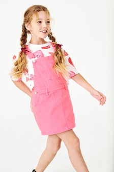 Denim-Latzkleid (3-16yrs)