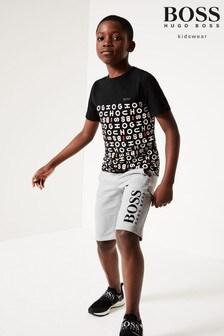 BOSS Grey Bermuda Shorts