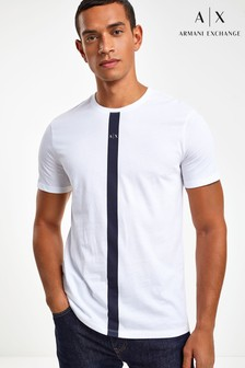 Armani Exchange Centre Logo T-Shirt