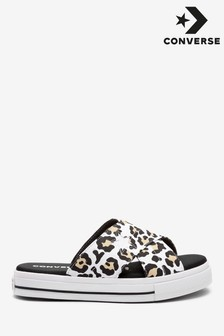 Converse One Star Leopard Sandals