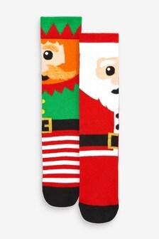Набор из двух пар рождественских носков
