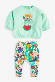 Character Sweat Top And Leggings (0mths-2yrs)