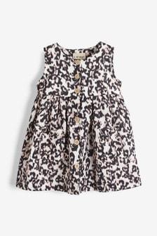 Ärmelloses, durchgeknöpftes Kleid (3Monate bis 7Jahre)