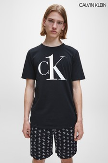 Черная футболка для дома Calvin Klein