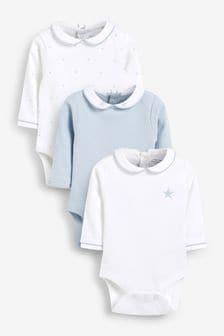 3 Pack Premium Long Sleeve Bodysuits (0mths-3yrs) (420997)   $18 - $21