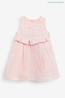 שמלה ורודה של Benetton