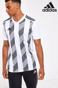 adidas Core ストライプ Tシャツ