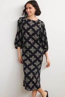 Textured Column Dress