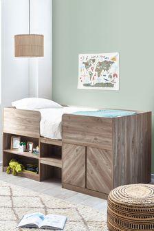 Ashton Storage Cabin Bed