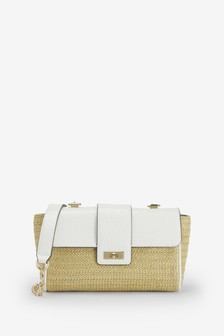 Weave Chain Across Body Bag