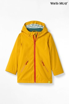 White Stuff Yellow Kids Alfie Rain Mac