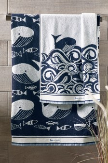 Wilson the Whale Towel