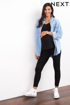 Maternity/nursing Oversize Denim Shirt (424329) | $35