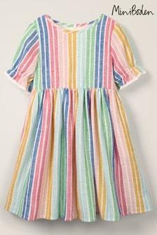 Boden Multi Stripe Woven Dress