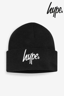 قبعة بيضاء بشعار نصي منHype