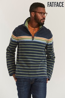 FatFace Blue Airlie Breton Sweater